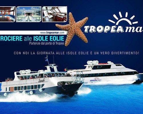 TropeaMar Navigazioni. Alla TropeaMar siamo fieri delle nostre imbarcazioni da circa 300 posti.