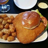 One big Tenderloin sandwich