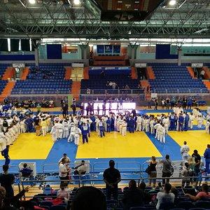 Cerimonia di apertura della competizione di Judo