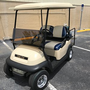 One of our custom made golf carts