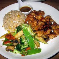 Combination Chicken & Shrimp Hibachi