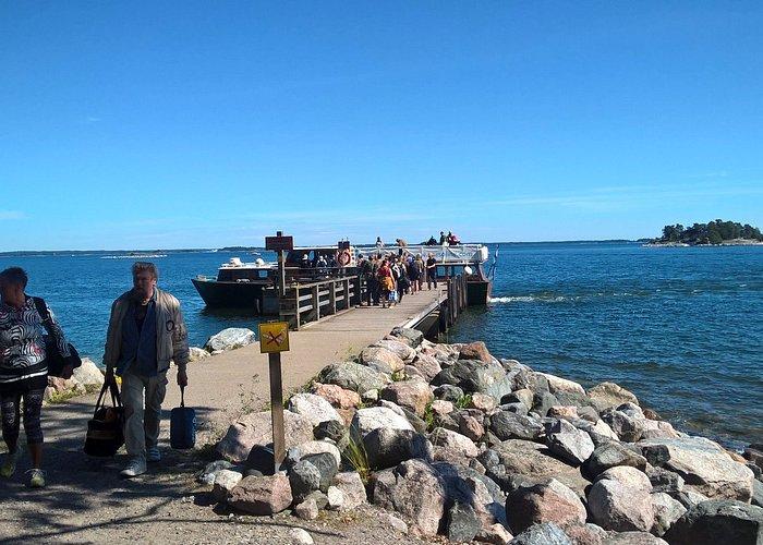 The boat from Vuosaari, Helsinki