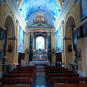 The Church of The Star. 14th century.  Built on top of roman remains. Amazing pearl of the tiny historical centre. The very core of the city religious tradition! Look for tours on Incitur web site, the only city operator tailoring local tours. #FeelAtHome #FeelWelcomed #EnjoyCivitavecchia