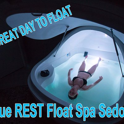 Relax at Sedona's only flotation spa