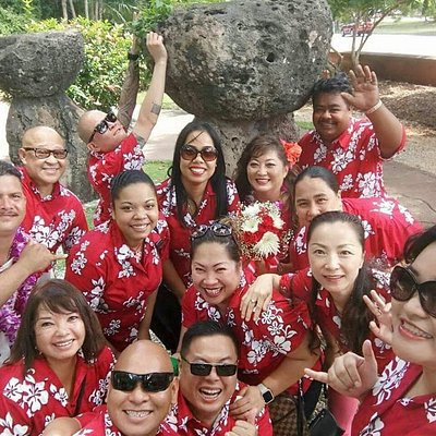 Discover Guam familia - full of friendly LOCAL faces ready to serve with multi-lingual tour guid