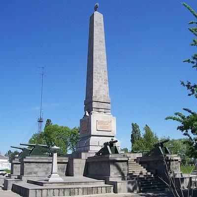 Памятник Таманской Красной Армии, открыт в 1923г.