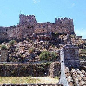 View of the castle next door