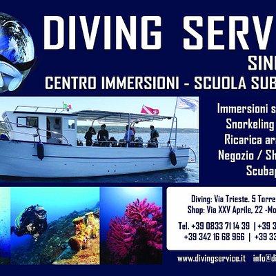 Diving Service, what else?