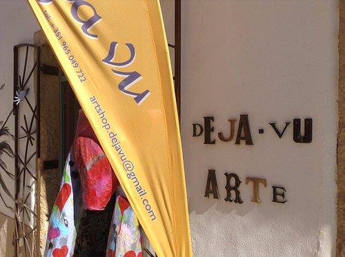 Deja Vu Art Shop in the heart of Ferragudo... A must see!