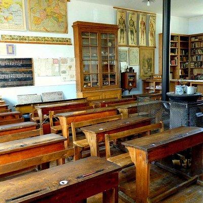 La salle de classe des garçons