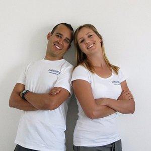 Antonio & Gosia, the owners of algherotours.com