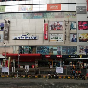 View of Little World Mall from street outside