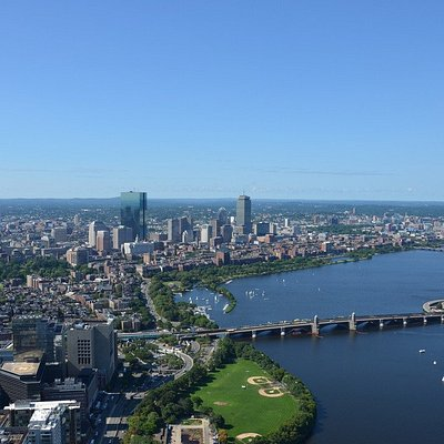 Epic day flying the Beantown
