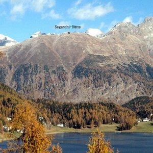 Schafberg mit Segantini Hütte