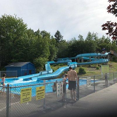 Water Slide Area