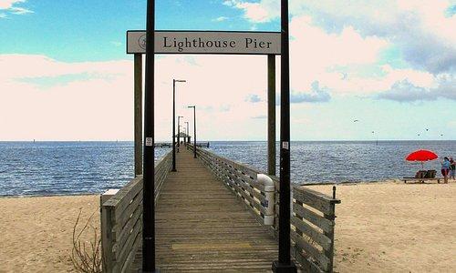 Biloxi Lighthouse Pier