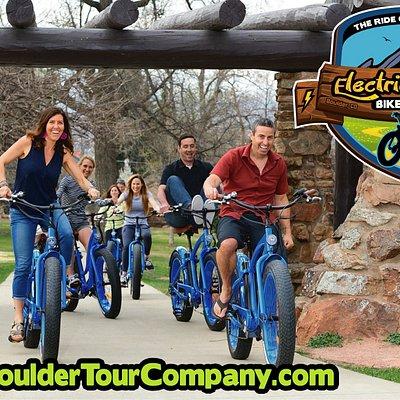 Boulder Tour Company - Electric Cruiser Bike Tours