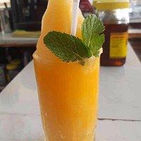 Fresh Orange Juice Shake