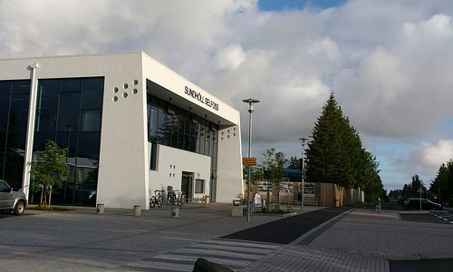 Sundholl Selfoss entrance