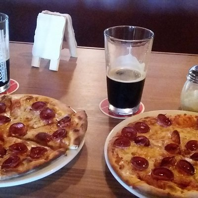 Pizza and a pint...