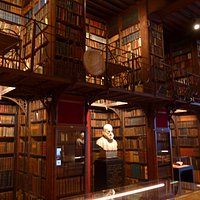 Antwerp, Nottebohm Room of Hendrik Conscience Library