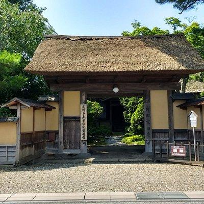 Uchida samurai home, street view