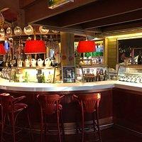 Main bar area inside