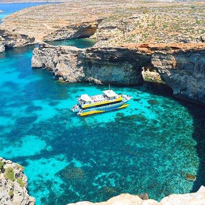 Sea Adventure in Crystal Lagoon, Comino