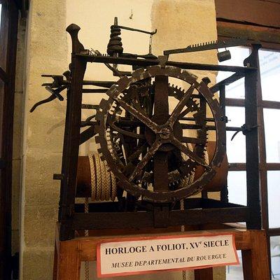 horloge a Foliot  du XV eme siècle