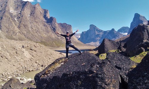 Stunning Mount Odin and Mount Thor in Auyuittuq National Park. This could be you!