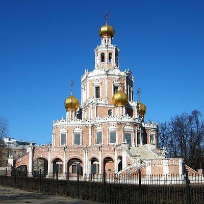 Церковь Покрова Пресвятой Богородицы в Филях. Дата фото: понедельник, 10 марта 2014 г.