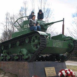 Танк Т26 Выборг.