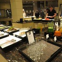 Interior of Aria Restaurant
