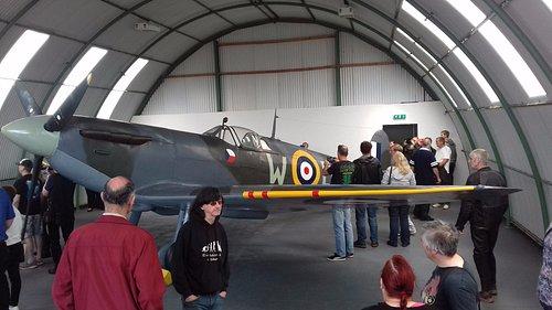 Spitfire - recovered from Loch Doon & restored