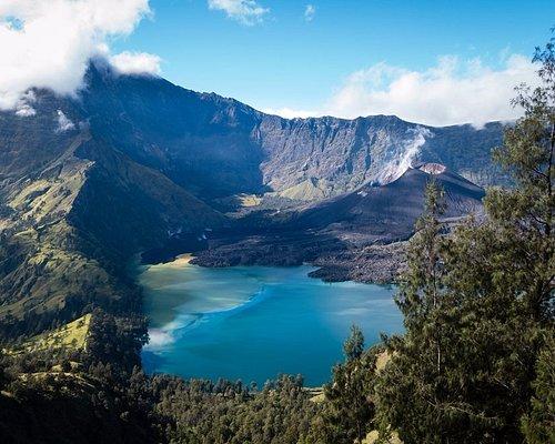 View from Senaru rim