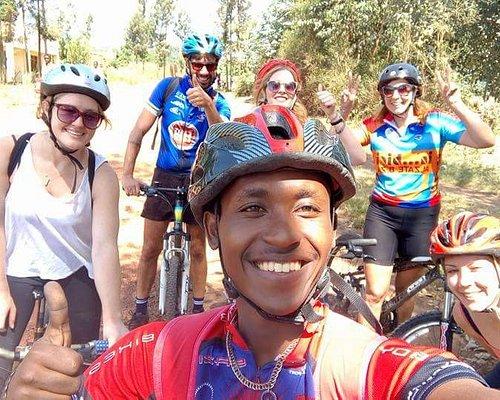 the congo nile trail ride