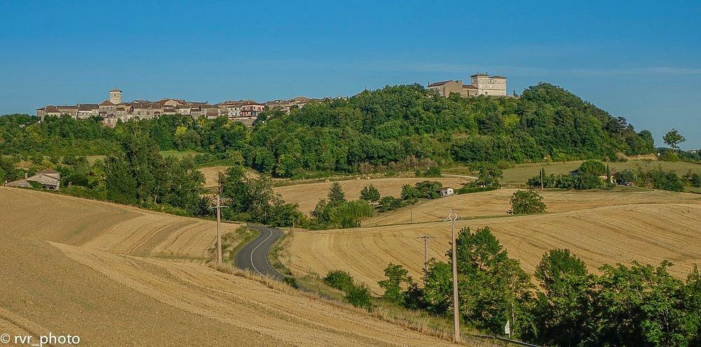 Panorámica de Castelnau-de-Montmiral