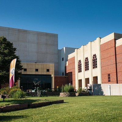 Exterior of Hastings Museum & Large Format Theatre