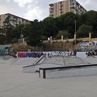 General view from skatepark
