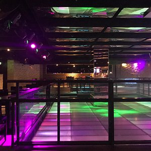 Empty dancefloor on a (July) Friday night