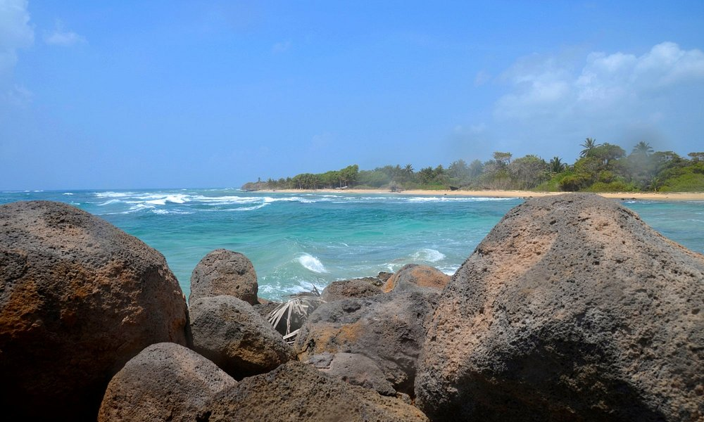 Vista del costado Norte de la isla