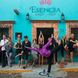Esencia Yoga community.  We await your arrival to enjoy Yoga and SPA services!