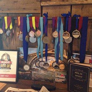Dry Fly Award winning Distillery