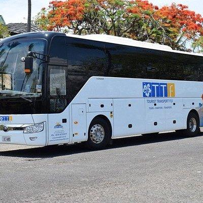 TTF also operates Fiji's first VIP Executive Tour Coach