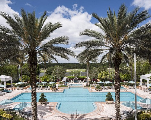 Adult-only Spa Pool at The Ritz-Carlton Spa, Orlando, Grande Lakes
