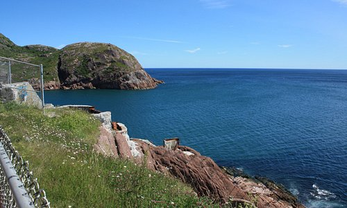 Looking towards the base of Signal Hill
