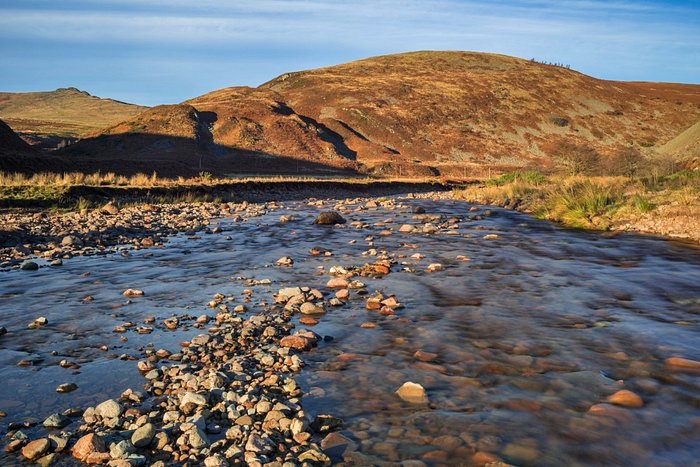 River Breamish in Northumberland National Park