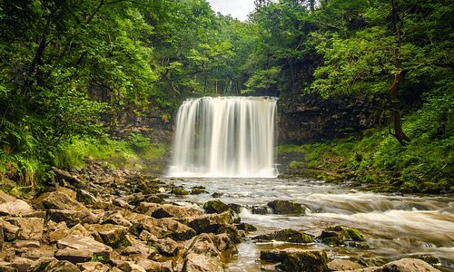 Fabulous waterfalls in The brecon Beacons