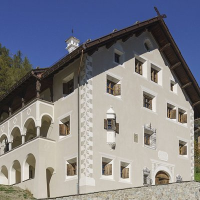 The Engadine Museum in St. Moritz, opened in 1906 (all photos by Daniel Martinek)