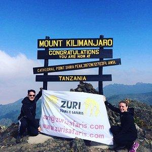 Zuri loves Kilimanjaro